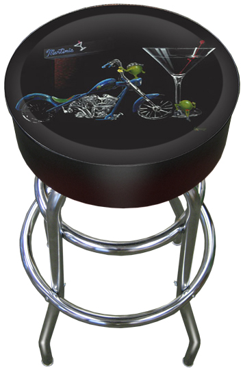Custom Martini Bar Stool Michael Godard